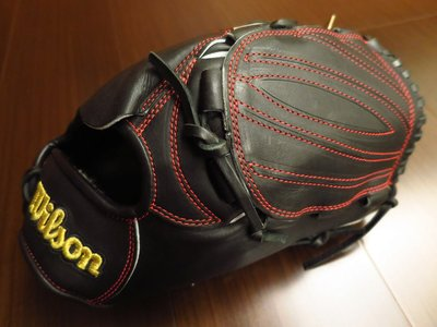 {圓圓小舖}全新日本製日製硬式日本製Wilson innovation staff小牛皮棒壘球手套(XA代工)投手手套黑