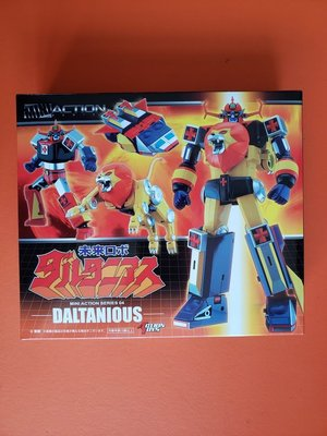 全新未開封品 Action Toys Mini Action 04 Future Robot Daltanious 太空保衛團 金毛獅王