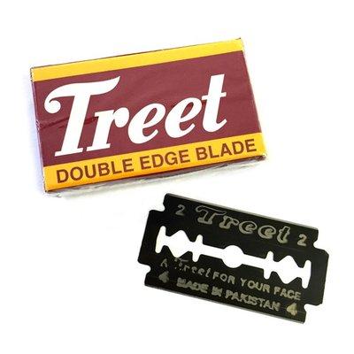 巴基斯坦 Treet - 碳鋼刮鬍刀片(10片裝 / 通用雙刃安全刮鬍刀)刮鬍刀片 雙刃刀片 雙面刀片 傳統刀片