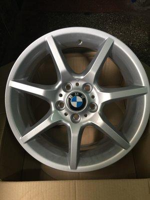 BMW 18吋鋁圈5*120,適用F20,E87,E46 ,E36原廠圈