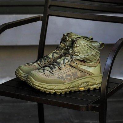 【Basa Sneaker】HOKA ONE ONE TOR ULTRA HI WP JP 高筒 軍綠 軍綠色