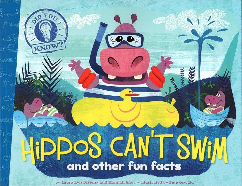 *小貝比的家*DID YOU KNOW: HIPPOS CAN'T SWIM AND OTHER FUN FACTS