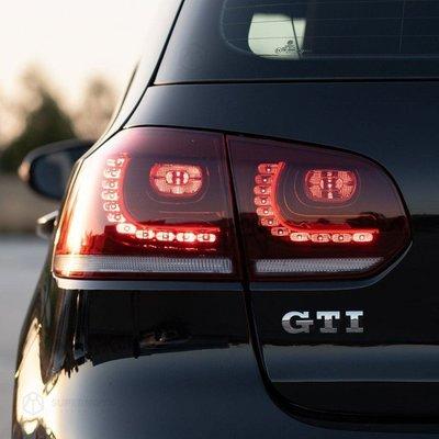 Golf 6 1.6 1.4T 2.0TDI 改德國原廠R20 LED尾燈專用線組