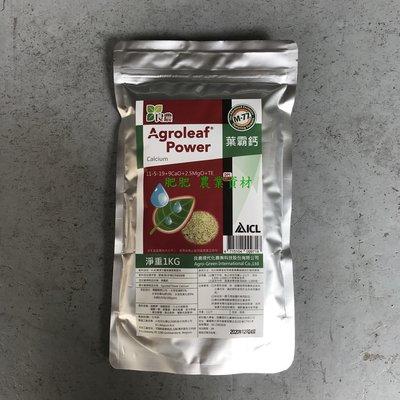 【肥肥】368 (比利時) ICL肥料大廠 葉霸鈣( 11-5-19+TE ) 1kg,促進生長提升抗病力及抗逆境能力。