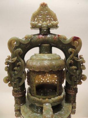 《儒藝城》 西漢雙鳳燭台(05217)