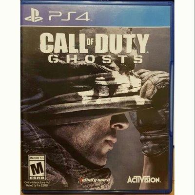 PS4遊戲  決勝時刻魅影決勝時刻使命召喚魅影call of duty ghosts PS4實體光碟