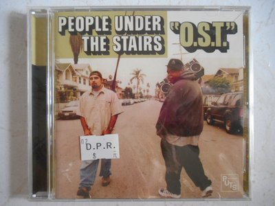 People Under the Stairs - O.S.T. (Original Soundtrack) 進口美版