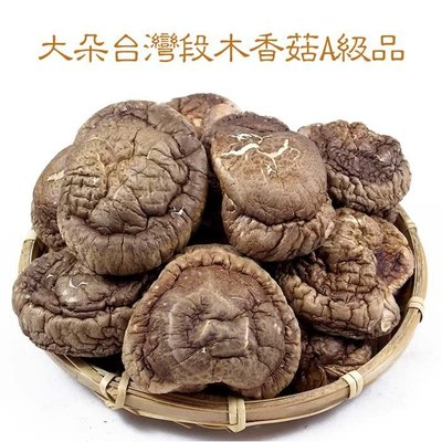 ~大朵台灣段木香菇(四兩裝)A級品~ 小包裝,南投縣仁愛鄉產,㊣柴菇,木頭上長出來的香菇,高品質,肉質厚。【豐產香菇行】