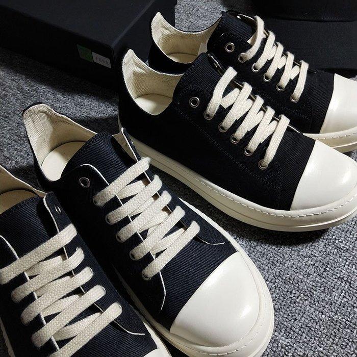 My fit guys 個性時尚復古街頭原宿 大頭鞋 低幫鞋 帆布鞋 低筒 厚底鞋 板鞋 鞋子 情侶鞋 RO鞋 黑 預購