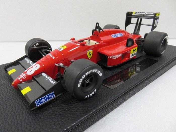 宗鑫貿易 1/12 TOP Marques GP008A Ferrari F1 87 / 88 G. Berger