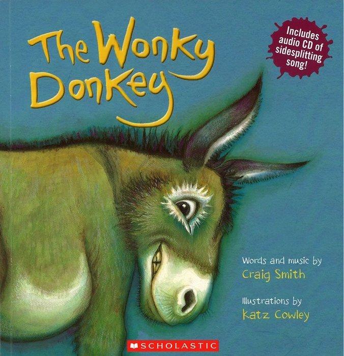 *小貝比的家*THE WONKY DONKEY/平裝書+CD/3~6歲