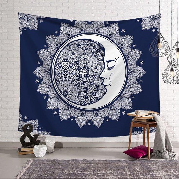 背景布 掛布 墻壁掛飾 背景墻 掛毯 北歐風ins掛布印度曼德拉瑜伽床頭客廳墻面背景裝飾壁掛毯沙灘巾