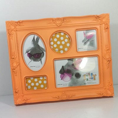 Silly 巴洛克 五合一 相框5 in 1 Photo frame Baroque plastic flour