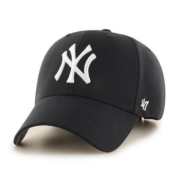 47 BRAND NEW YORK YANKEES 洋基隊MVP黑色棒球帽鴨舌帽孫芸芸蔡依林明星藝人最愛愛COACH包包