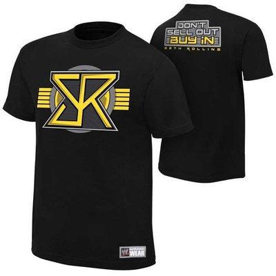 WWE 摔角衣服 Seth Rollins Buy In  塞思 羅林斯短袖T恤 買三免運