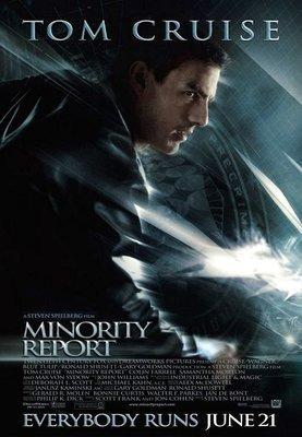 關鍵報告-Minority Report (2002)原版電影海報