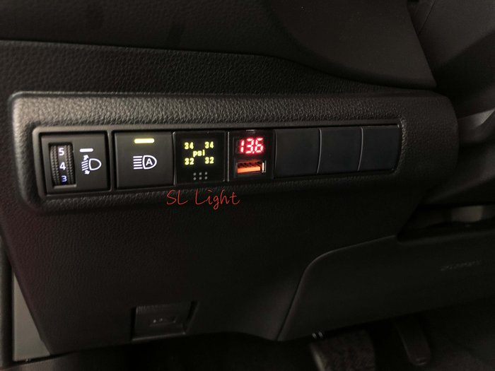SL光電精品~2019 12代 ALTIS ORO 支援原車胎壓感應器 胎壓偵測器 W417 中文顯示 電壓顯示