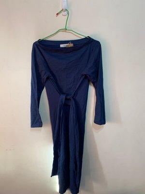 「 全新 」 韓國 Dolly Varden 綁帶連身裙 ( 深藍 ) 7
