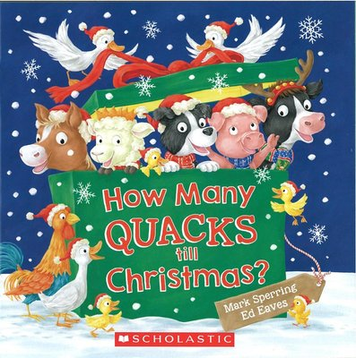 *小貝比的家*HOW MANY QUACKS TILL CHRISTMAS/平裝/3~6歲/聖誕節