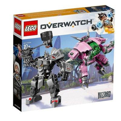 現貨 下單+2天內出貨樂高 LEGO 75973 Overwatch 系列 - D.Va & Reinhardt