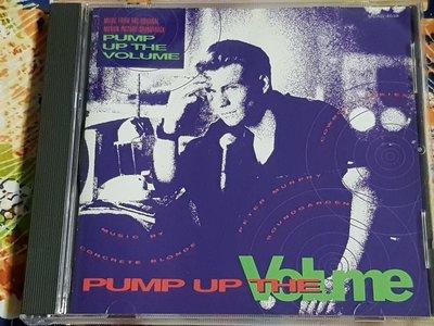 R西洋男(二手CD)PUMP UP THE VOLUME SOUNDTRACK~