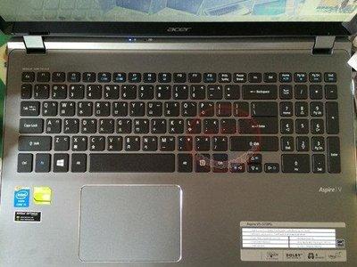 ☆蝶飛☆宏基筆電鍵盤保護膜 ACER Aspire VN7-591G-505B 鍵盤膜 15.6吋鍵盤保護套 嘉義縣