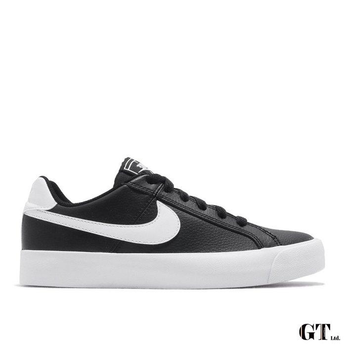 【GT】Nike W Court Royale AC 黑 女鞋 低筒 皮革 運動鞋 慢跑鞋 休閒鞋 AO2810-001