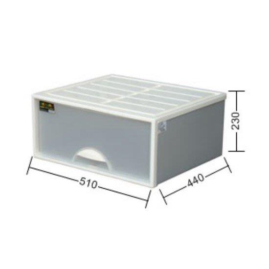 LOFT/4個免運/抽屜整理箱/單抽屜整理箱/收納箱/置物櫃/尿布收/35L/直購價