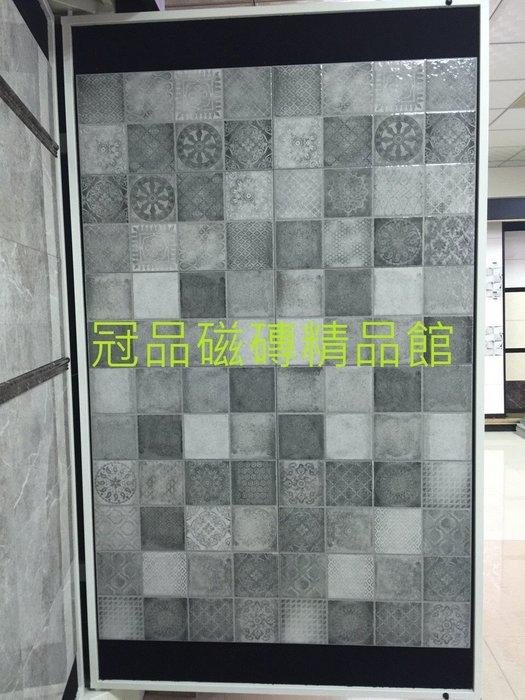 ◎冠品磁磚精品館◎進口精品-復古亮面素磚及花磚–30X60CM