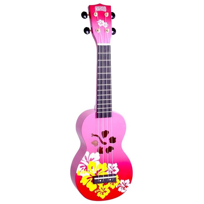 【六絃樂器】全新 Mahalo Red Burst ukulele 21吋烏克麗麗 / 現貨特價
