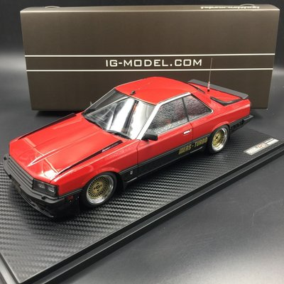 Ignition 1/18 Nissan Skyline 2000 RS-Turbo R30 Red IG0984