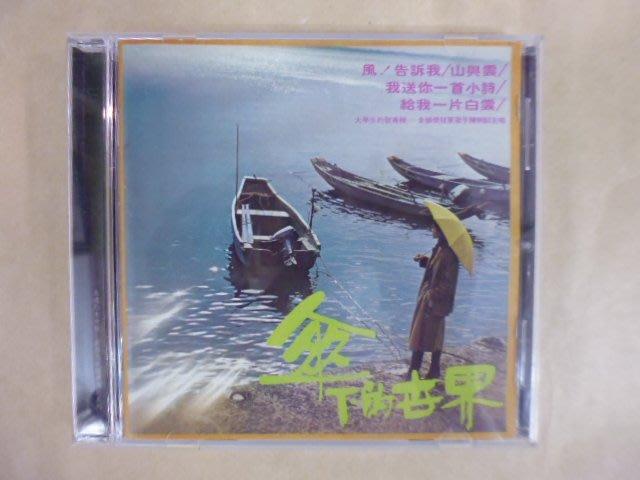 明星錄*2007年陳明韶專輯.傘下的世界.二手CD(m18)