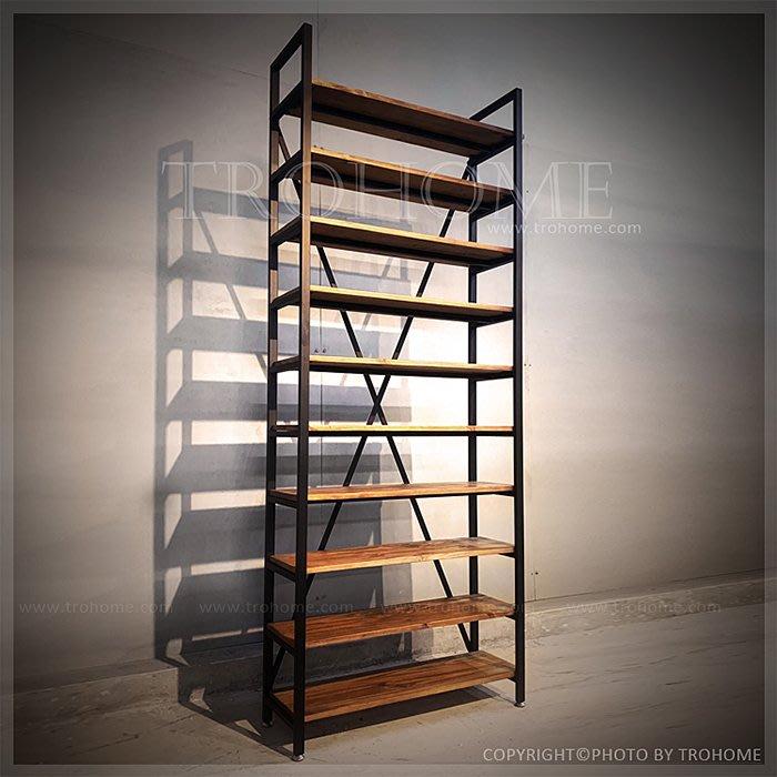 【拓家工業風家具】可訂製-多層實木層架/美式復古置物櫃書櫃隔間屏風吧檯櫃/LOFT陳列櫃書架置物架餐櫃酒櫃屏風櫃玄關櫃