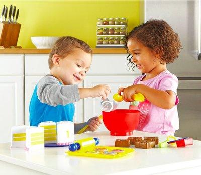 【晴晴百寶盒】美國進口 蛋糕烘培組 手做辦家家酒 可愛益智玩具 益智遊戲 送禮禮物禮品 創意寶寶早教益智遊戲 W402