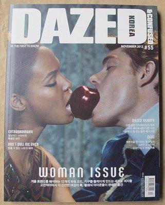 韓國流行時尚雜誌 DAZED & CONFUSED KOREA 12年11月號 : Sam Riley