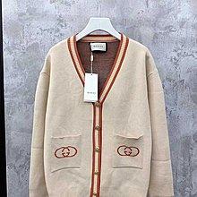 $329- clothes shirt sweater jacket G 19同步 羊毛羊絨 百搭厚款 後背老虎 針織  冷衫 外套