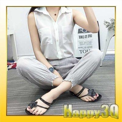 白色百搭上班族大學生無袖雪紡紗寬鬆翻領襯衫-S/M/L【AAA0571】預購