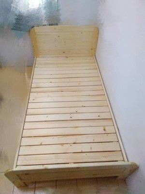 《鑫進行》全新 DIY松木單人床架 實木床架 3.5尺 台南市