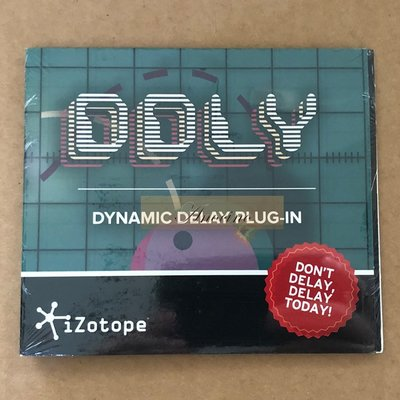 [Anocino] iZotope DDLY Dynamic Delay Plug-in 延遲效果器 下載版 (全新封裝) 軟體授權