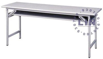 【品特優家具倉儲】◎P991-33會議桌補習桌白色檯面會議桌120*45◎