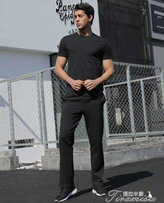 ZIHOPE 休閒長褲-運動褲男士春夏季直筒大尺碼寬鬆跑步衛褲休閒針織男褲ZI812