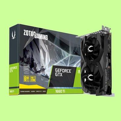 5Cgo【聯強】ZOTAC索泰 雙風扇 GeForce GTX 1660 Ti  6GB顯示卡 3年保 含稅