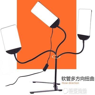 3檔調光軟管燈桌面便攜LED打光燈大范...