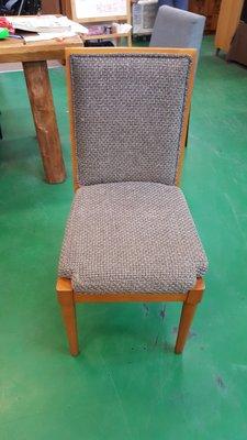 二手家具 台中 宏品全新中古傢俱 F031808*灰色布面餐椅*二手桌椅拍賣 麻將桌椅 電腦桌椅 書桌椅 辦公桌椅