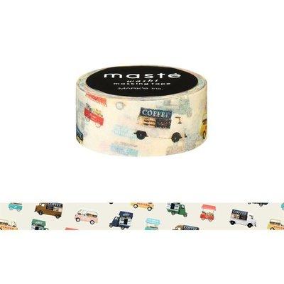 【R的雜貨舖】紙膠帶分裝 MARK'S maste和紙膠帶-ワゴンショップ 移動小餐車