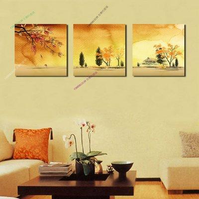 【70*70cm】【厚0.9cm】經典花卉-無框畫裝飾畫版畫客廳簡約家居餐廳臥室牆壁【280101_413】(1套價格)