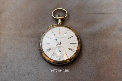 [已洗油] LIP Chronometer 歐洲古董雕花銀殼懷錶 紅12 瓷面 (機械懷錶) 台北市
