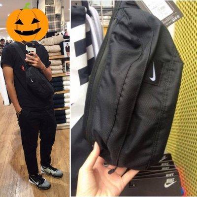 【Simple Shop】現貨Nike Hood Waistpack 腰包 黑 NIKE LOGO 側背包 BA4272