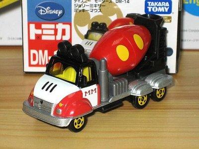 TOMICA (DISNEY) DM-14 米奇水泥車