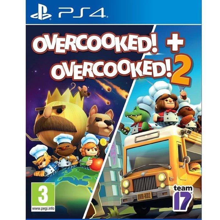 [BoBo Toy] 現貨 PS4 Overcooked 1+2 煮過頭 1+2 中文版 (一代為英文版)